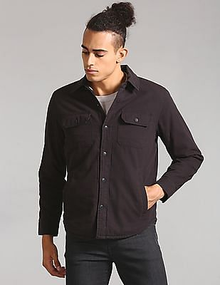 GAP Sherpa Lined Shirt Jacket
