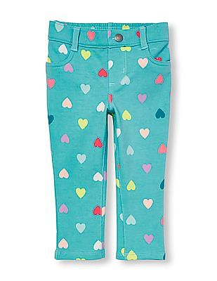 The Children's Place Toddler Girl Printed Knit Jeggings