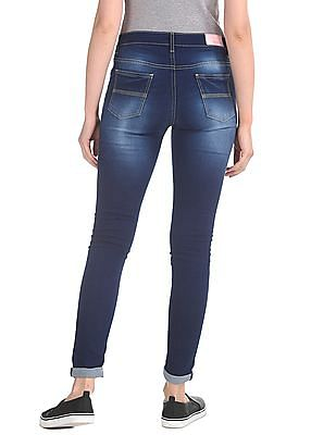 Newport Skinny Fit Stone Washed Jeans