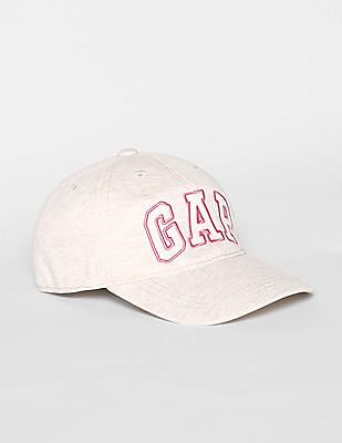 GAP Beige Boys Logo Baseball Hat
