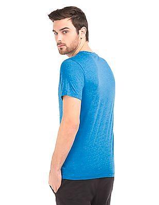 Aeropostale Brand Applique Melange T-Shirt