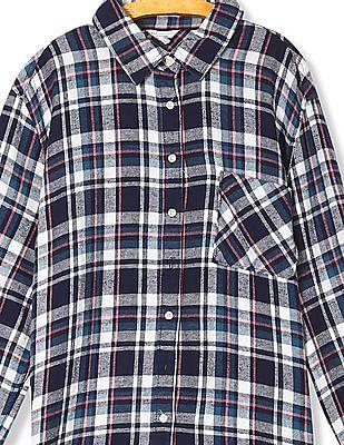 Aeropostale Full Sleeve Check Shirt