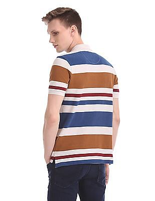 U.S. Polo Assn. Cotton Stripe Polo Shirt