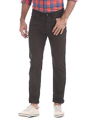 Nautica Slim Fit Five Pocket Fine Stretch Twill Pants