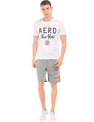 Aeropostale Heathered Knit Shorts