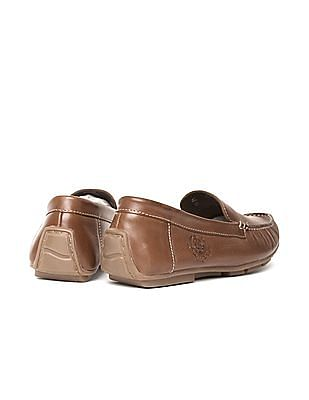 U.S. Polo Assn. Denim Co. Grained Leather Loafers