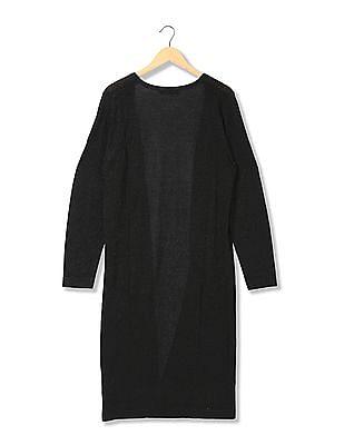EdHardy Women Knitted Open Front Longline Shrug