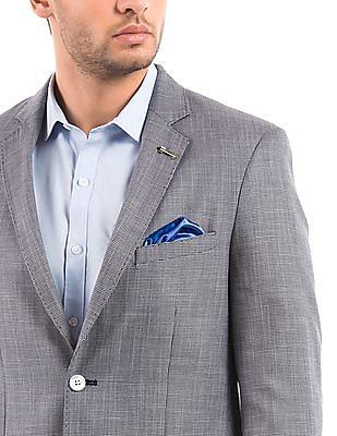 Arrow Regular Fit Single Breasted Blazer
