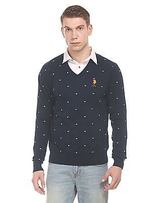 U.S. Polo Assn. Slim Fit V-Neck Sweater