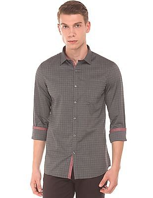 Elitus Slim Fit Jacquard Shirt