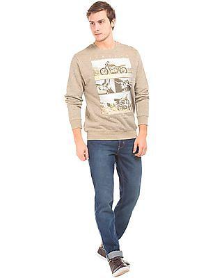 Newport Heathered Printed Sweatshirt
