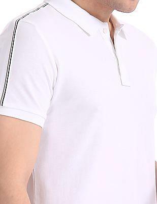 Arrow Sports Velvet Finish Pique Polo Shirt