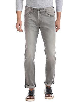 Aeropostale Skinny Fit Rinsed Jeans