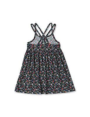GAP Toddler Girl Print Double Spaghetti Dress