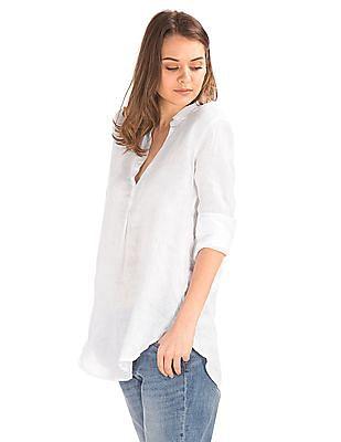 GAP Linen Popover Tunic