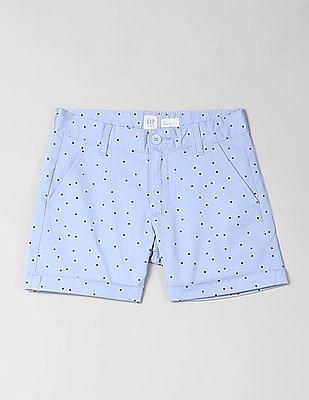 GAP Girls Printed Midi Shorts