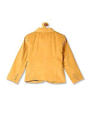 U.S. Polo Assn. Kids Boys Single Breasted Corduroy Blazer