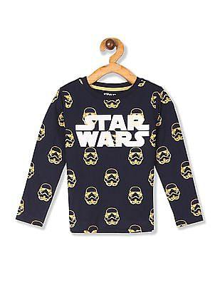 Colt Blue Boys Star Wars Graphic Cotton T-Shirt