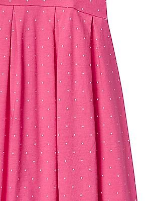 GAP Girls Print Babydoll Dress