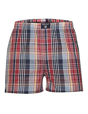 Gant Check Cotton Boxers