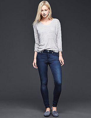 GAP 1969 knit true skinny jeans