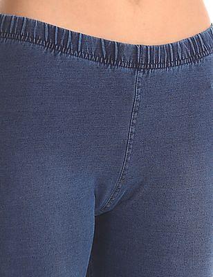 Flying Machine Women Drop Crotch Cowl Pants