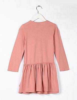 GAP Baby Pink Drop Waist Dress