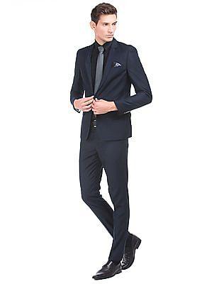 Arrow Newyork Houndstooth Slim Fit Two Piece Suit
