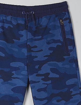 GAP Boys Pull-On Shorts In French Terry