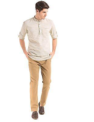 True Blue Slim Fit Popover Shirt