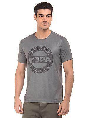 USPA Active Brand Print Active T-Shirt