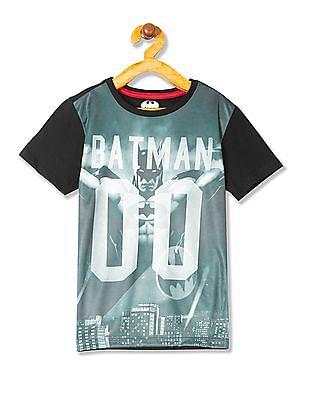 FM Boys Boys Batman Print T-Shirt