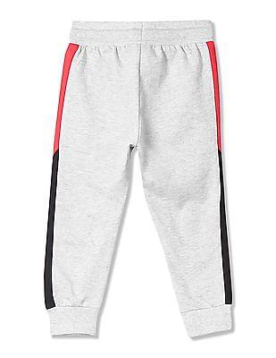 U.S. Polo Assn. Kids Boys Regular Fit Heathered Joggers