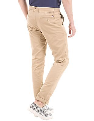 U.S. Polo Assn. Mid Rise Slim Fit Chinos