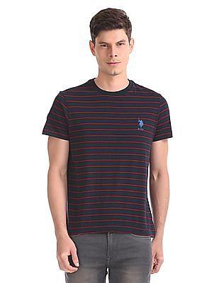 U.S. Polo Assn. Striped Crew Neck T-Shirt