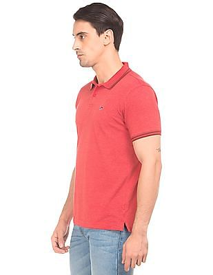 Ruggers Solid Regular Fit Polo Shirt