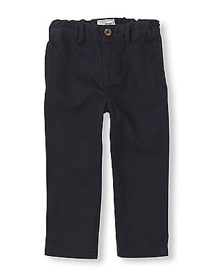 The Children's Place Baby Solid Skinny Chinos