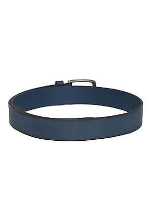 Arrow Sports Blue Burnished Leather Belt