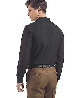 Excalibur Regular Fit French Placket Shirt
