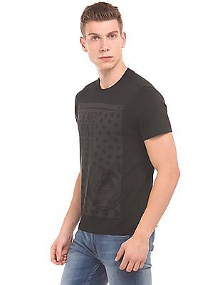 U.S. Polo Assn. Denim Co. Printed Front Muscle Fit T-Shirt