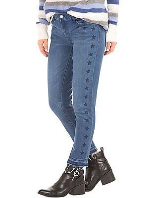 GAP Women Blue Authentic 1969 Best Girlfriend Star Jeans