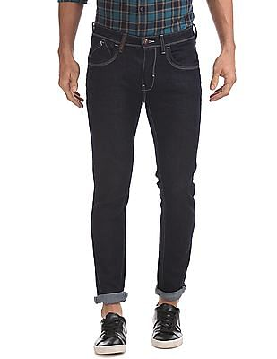 Ed Hardy Dark Wash Clean Look Jeans