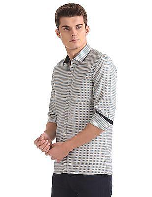Excalibur Slim Fit Long Sleeve Shirt