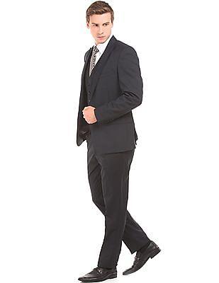 Arrow Three Piece Regular Fit Suit