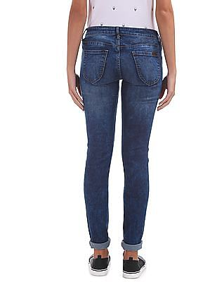 EdHardy Women Low Rise Super Skinny Fit Jeans