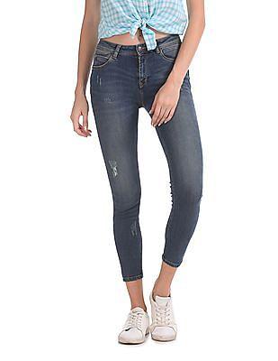 Flying Machine Women Twiggy Push up Skinny Fit Jeans