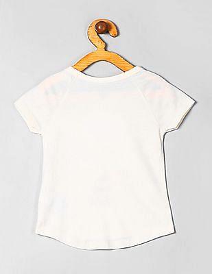 GAP Baby Short Sleeve Appliqued T-Shirt