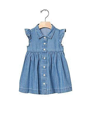 GAP Baby Blue 1969 Denim Shirt Dress