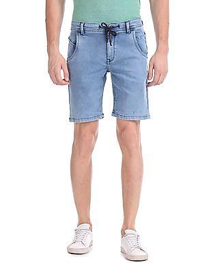 Colt Stone Wash Denim Shorts