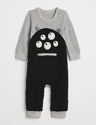 f8370220736c Buy Baby Baby Monster Graphic One-Piece Bodysuit online at NNNOW.com